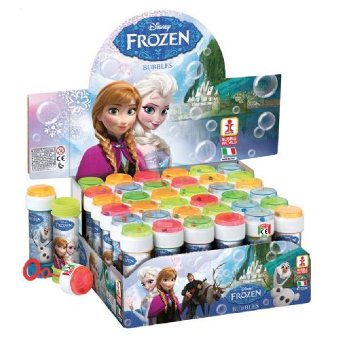 36 x Disney Frozen - Puzzle Maze Tub Bubbles 60ml Wholesale Bulk Buy